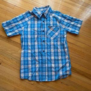 Hurley boys button down shirt NWT M